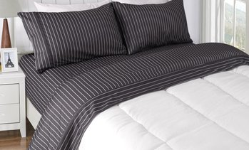 Micro Flannelette Printed Sheet Set