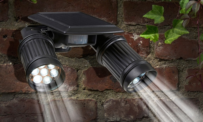 Summer Clearance Solar Security Lights Groupon Goods