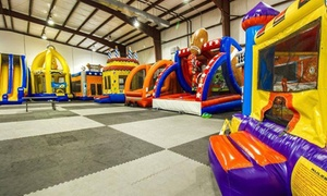 Up to 48% Off Walk-In Play Experience at BooKoo Bounce at BooKoo Bounce, plus 6.0% Cash Back from Ebates.