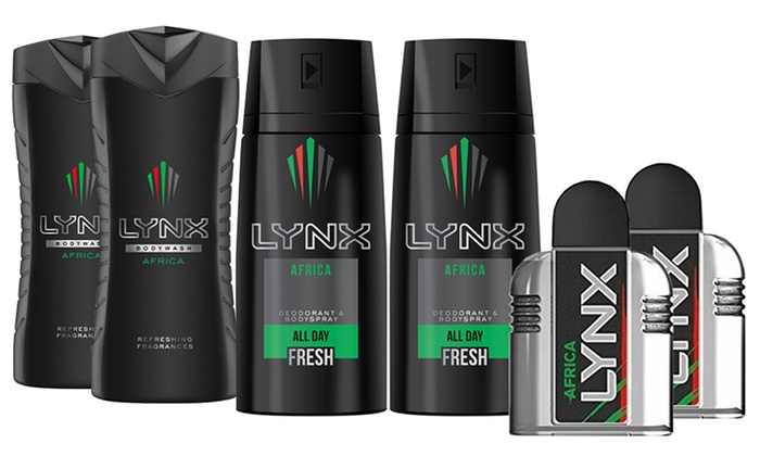Up To 28% Off Lynx Africa Cosmetics Bundle | Groupon