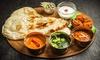 Menu indiano con dolce e vino sui Navigli
