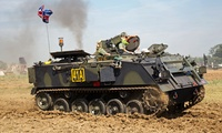 Military Tank Driving Experience with Optional Monster Truck Driving Experience with Wicked Adventures (Up to 53% Off)