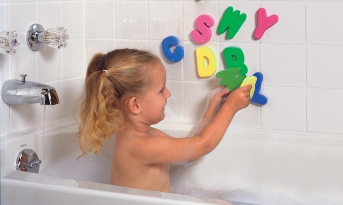 kidco funtime bath basket set groupon goods. Black Bedroom Furniture Sets. Home Design Ideas
