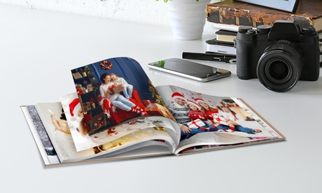 Álbum de fotos de tapa dura en tamaño a elegir con Photo Gift (ES) (hasta 85% de descuento)