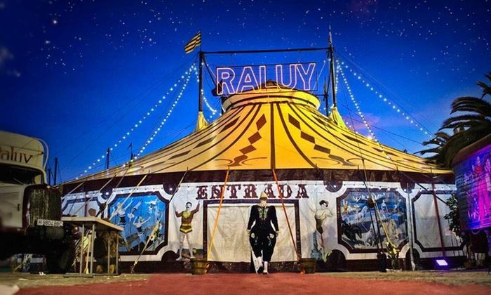 """Circ Raluy Històric - Varias localizaciones: Entrada al espectáculo """"Fortius"""" para adulto o niño del 3 al 25 de noviembre desde 6 € en Circ Raluy Històric"""