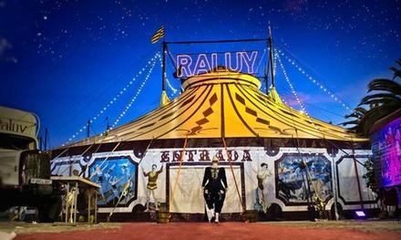 Entrada al Circ Històric Raluy para adulto o niño del 23 de diciembre al 29 de enero desde 5 €
