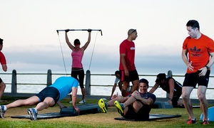 Joy of Movement Fitness Solutions: One-Month Outdoor Bootcamp Membership from R119 with Joy of Movement Fitness Solutions (Up to 82% Off)