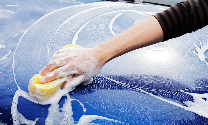 Great American Car Wash - Fresno: Car Wash with Optional Orbital Wax or Interior Steam Clean and Dressing at Great American Car Wash (Up to 58% Off)