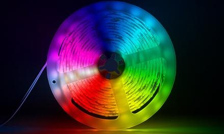 1 m o 2 m de tira de luces LED multicolor o blanco