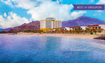 Khor Fakkan: 1–2 Nights for Two with Breakfast or Half Board and 50% Off Massage at 4* Oceanic Khorfakkan Resort & Spa