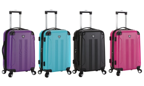 Traveler's Club 20 Hardside Spinner Expandable Carry-On Luggage