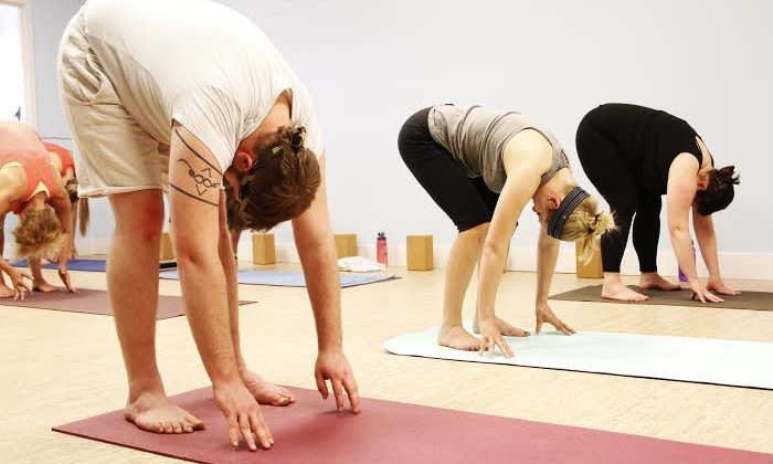 Twisted Hot Yoga - Knapp's Corner: 5, 10, or 20 Yoga Classes at Twisted Hot Yoga (Up to 63% Off)