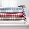 Wexley Home Cotton Plaid Throws (2-Pack)