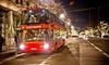 Lichterfahrt im Doppeldeckerbus