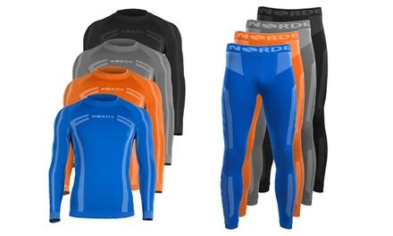 1 o 2 conjuntos de ropa interior térmica para hombres