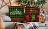 Cotton Blend Christmas Pillowcases