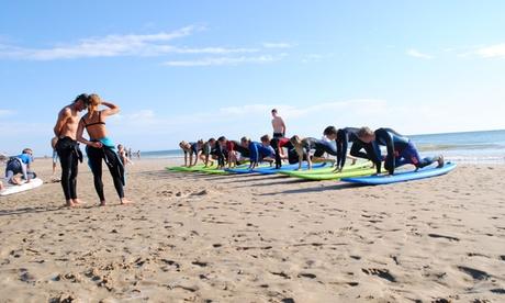 1, 3 o 5 días de cursos de surf con todo el material incluido desde 14,95 € en 2 centros de Australian Surf School Oferta en Groupon