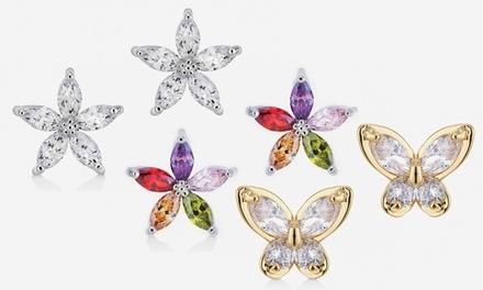 Star or Butterfly Earrings