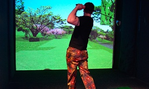 The Green Manchester: Golf Simulator Plus Nachos and Beer For Two from £14 at The Green (Up to 60% Off)