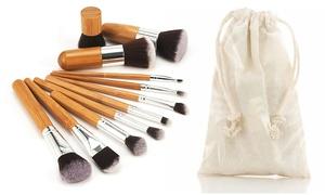 Set de pinceaux de maquillage