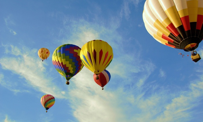 Ace High Ballooning - 7: $499 for Private Hot Air Balloon Ride for Two or Four from Ace High Ballooning ($1,000 Value)