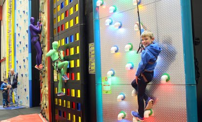 image for Indoor Climbing Session for Child or Adult at Clip 'N Climb Dundonald (Up to 29% Off)