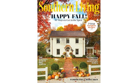 Southern Living Magazine Subscription for Six Months or One Year (Up to 83% Off)