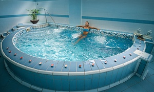Terme Forlenza: Terme Forlenza - Ingresso piscine esterne, maschera viso, massaggio, cena, camera in day use