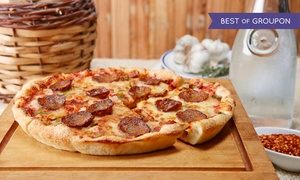 Rico's Italian Pizza: Pizzeria Cuisine at Rico's Italian Pizza (43% Off). Two Options Available.