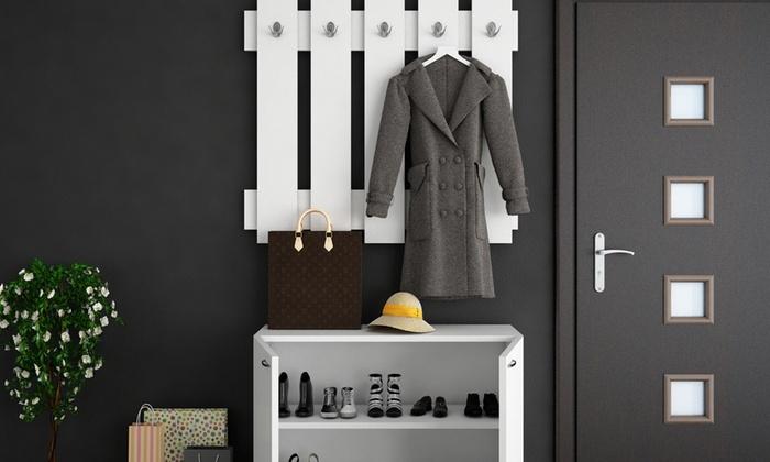vestiaire d 39 entr e garden groupon shopping. Black Bedroom Furniture Sets. Home Design Ideas
