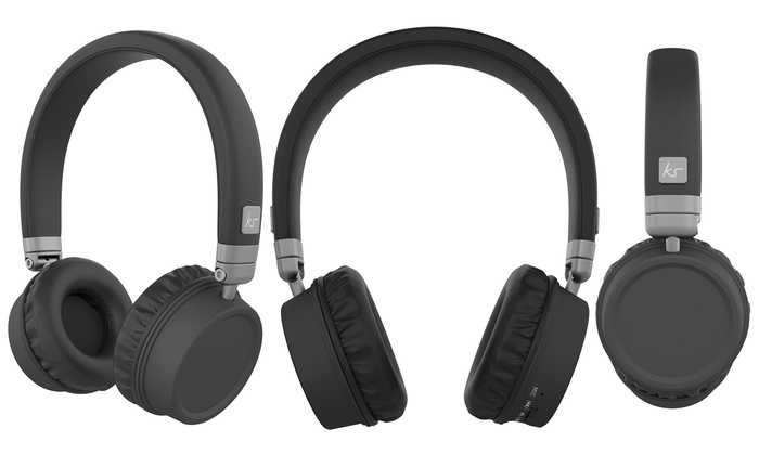 c2291193c9dec3 Up To 34% Off Kitsound Harlem Bluetooth Heapdhones | Groupon