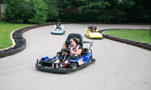 Renaissance Fun Park: Four Attraction Tickets with Fun Card or Four Unlimited Passes at Renaissance Fun Park (Up to 48% Off)