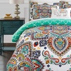 Boho Comforter Set (6- or 8-Piece) or Quilts/Duvets (3- or 4-Piece)