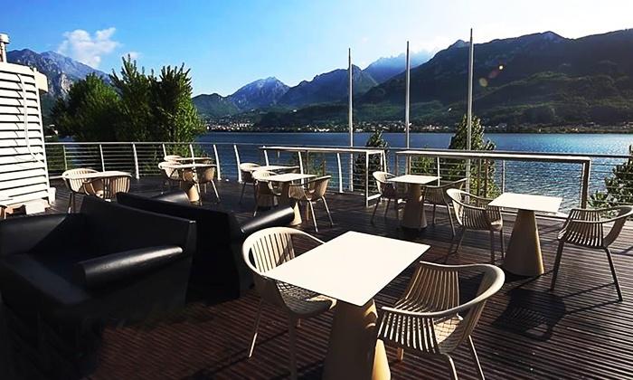Cena di 4 portate con vista lago di Como - D-Lake | Groupon