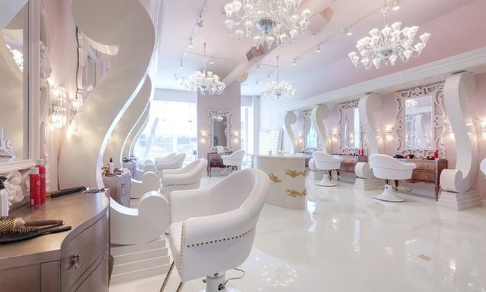 Gel manicures glam beverly hills salon groupon for 3d nail salon midvale utah