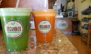 Organikos: $4 for $7 Worth of Juice Bar Drinks — Organikos