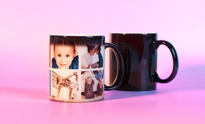 Photobook Canada: 1 or 2 Personalized Photo Mugs or Magic Mugs by Photobook Canada (Up to 60% Off)