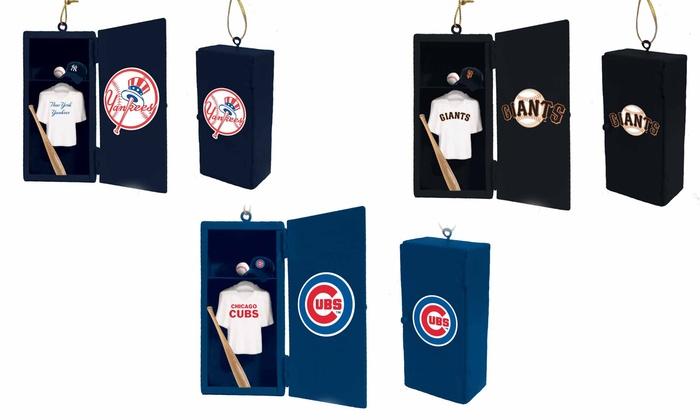 MLB Team-Locker Ornament