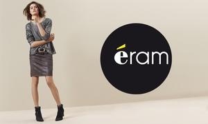Eram: Jusqu'à 120 € d'économie ! 40 % de réduction sur la collection en ligne Éram pour seulement 5 €