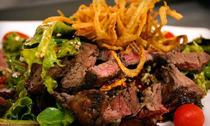 Spike 'n' Rail Steakhouse - Selma: Steakhouse Cuisine at Spike 'n' Rail Steakhouse (Half Off). Three Options Available.
