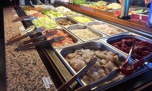 Le Shanghai: Buffet à volonté avec soda et cocktail au choix pour 1, 2, 3 à 4 personnes dès 14,90 € au restaurant Le Shanghai