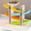 Toy Ramp Race Track and Race Car Set (5-Piece)