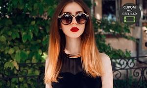 Beleza Brasil Cabeleireiro e Estetica: Beleza Brasil Cabeleireiro e Estética – Portão: ombré hair ou californianas + tonalização + lavagem (opção com corte)
