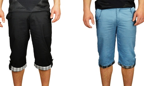1 o 2 pantalones bermudas para  hombre desde 12,90 €