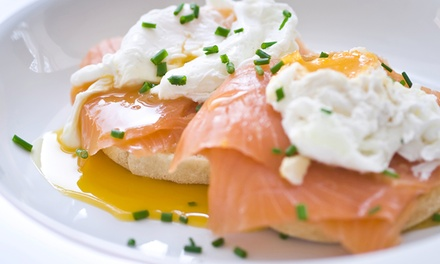 All-Day Breakfast or Lunch with Coffee or Tea for One ($16) or Two People ($29) at Degani (Up to $52 Value)