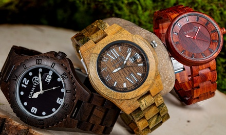 Orologio Eco-Friendly Earth Wood