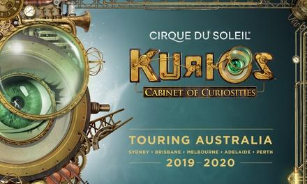 KURIOS Cabinet of Curiosities by Cirque du Soleil: Tickets , 2 October 27 October, The Entertainment Quarter