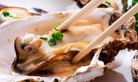 牡蠣好きには堪らない。色々な牡蠣料理が堪能できる≪がんがん焼きなど三陸復興応援コース全12品 / 飲み放題付きクーポンも有り≫ @山海楼...