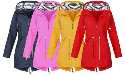 Women's WaterResistant Raincoat