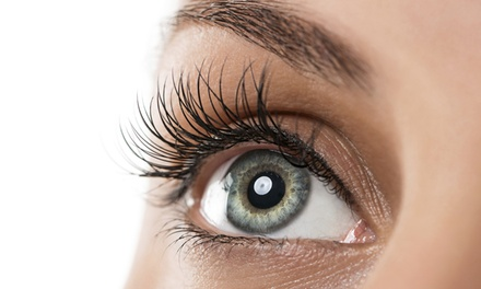 Full set of Faux-Mink Lash Extensions, with Option of Fill at iLash Lab (Up to 74% Off)